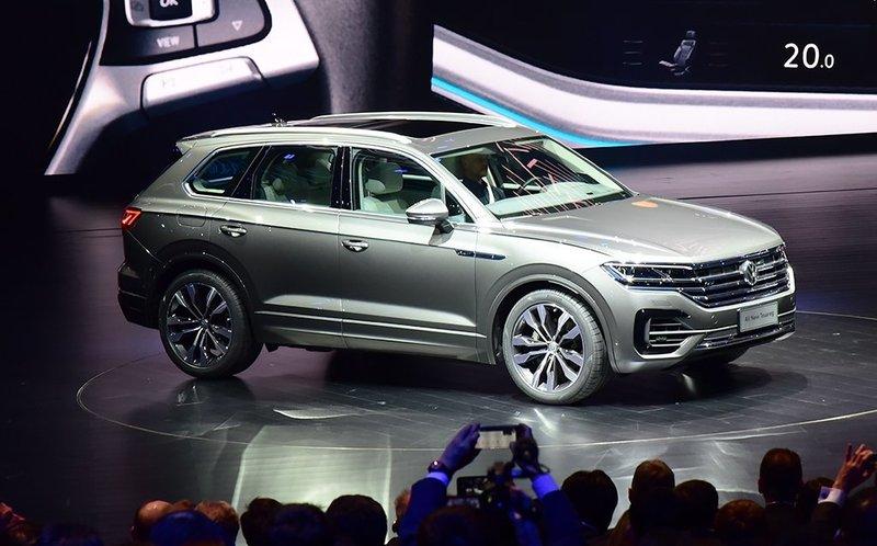 В Пекине официально представлен новый Volkswagen Touareg