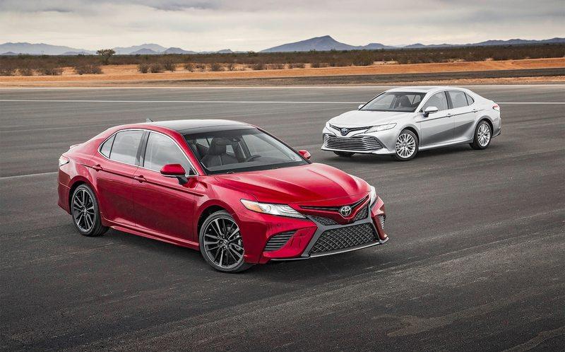 Обзор новой Toyota Camry 2018