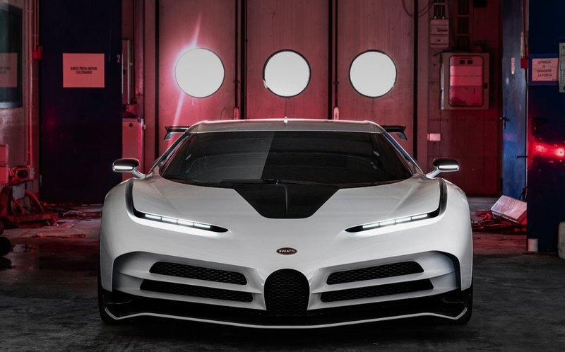 Показан гиперкар Bugatti за 8 млн евро