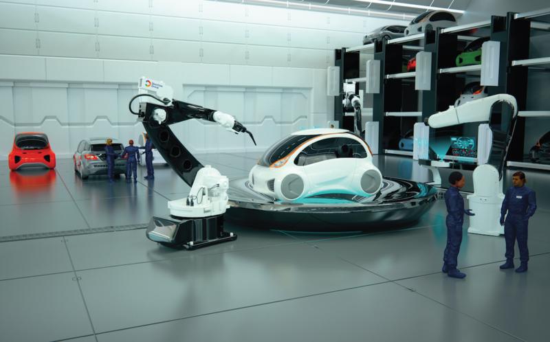 Пять наиболее интересных технологий в автомобилях будущего