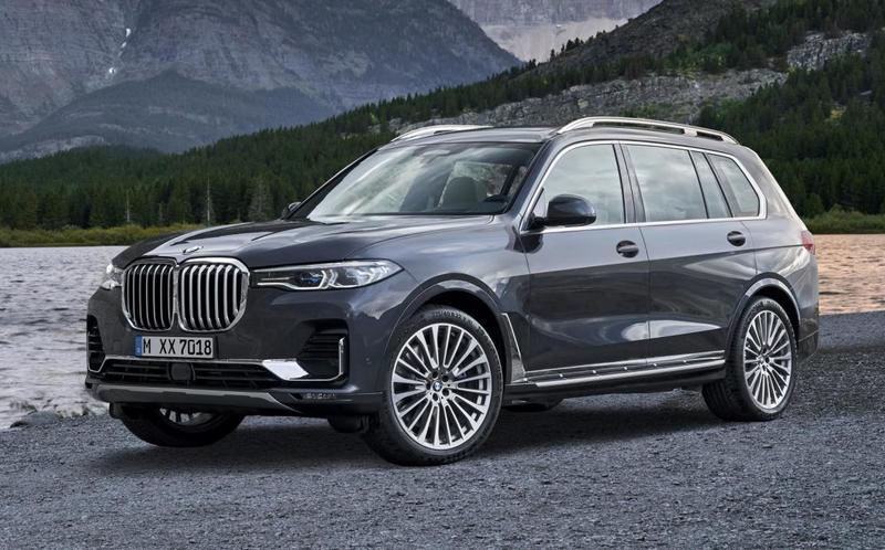 Объявлены российские цены на новый BMW X7