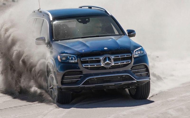 Mercedes научили выпрыгивать из песчаной ловушки
