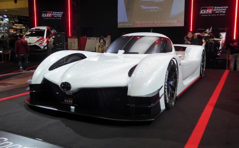 Тойота планирует производство 986-сильного гиперкара
