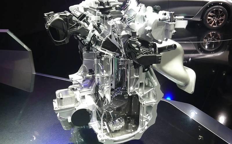Двигатель от Infiniti с изменяемой степенью сжатия