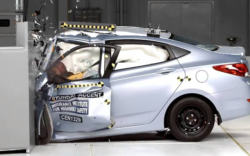 Краш-тесты автомобилей