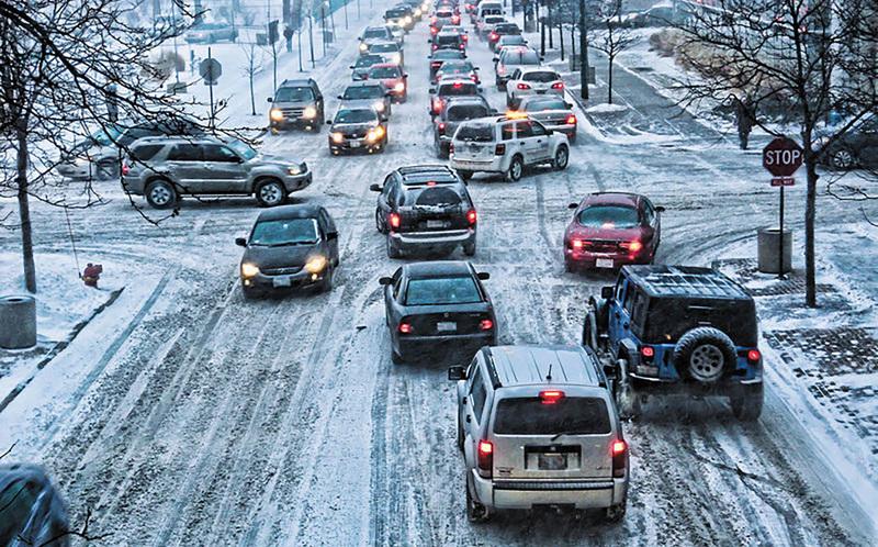 Особенности управления автомобилем в зимний период