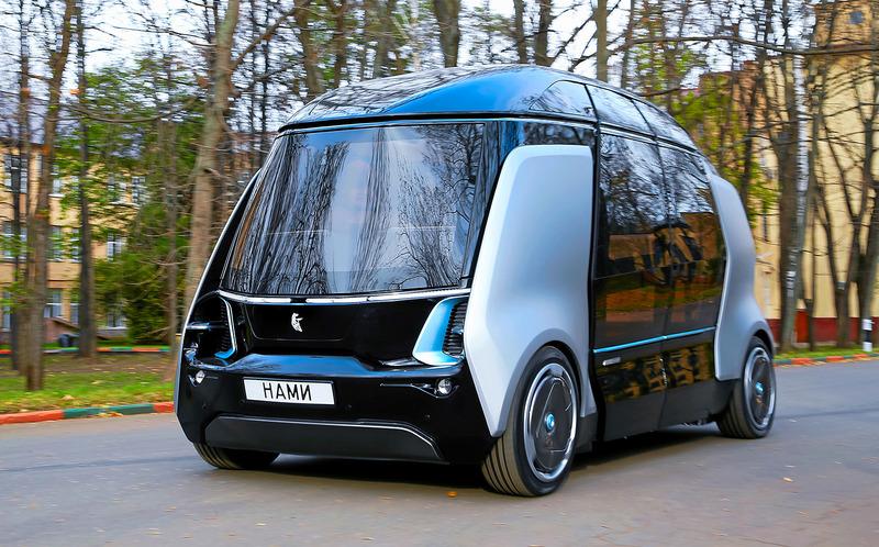 Российский беспилотный автомобиль: «Шатл» от НАМИ и КАМАЗа