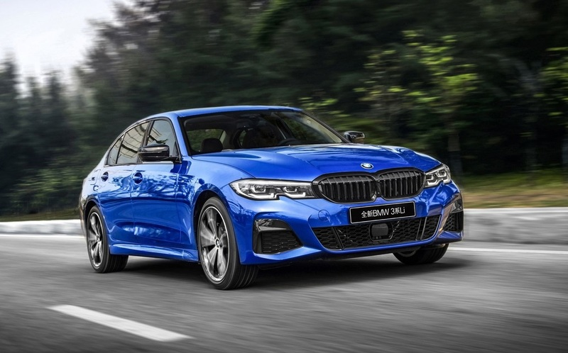 На Шанхайском автосалоне дебютировала самая длинная «тройка» BMW