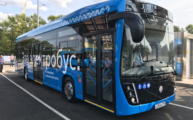 Москва вышла на первое место в Европе по количеству электробусов