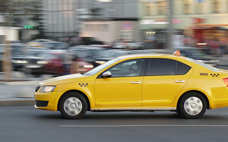 В центре Москвы вводят запрет на такси