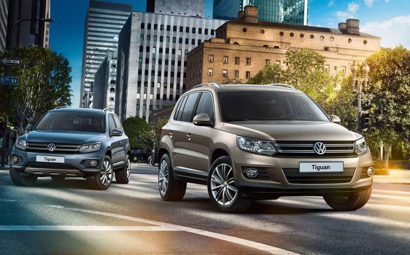Запчасти для Volkswagen Tiguan