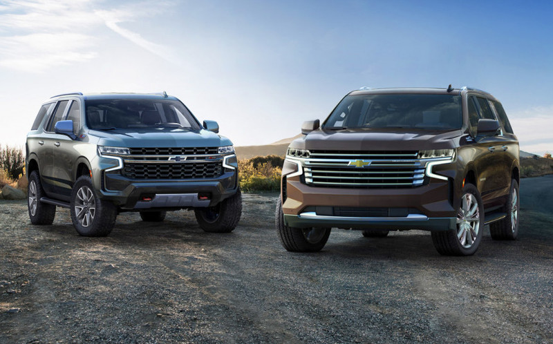 Chevrolet Tahoe и Suburban поколения 2020