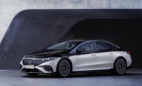 Mercedes представил роскошный электрический седан