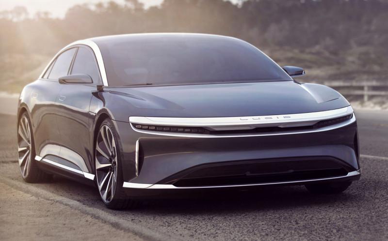 Компания Lucid Motors открыла приём заказов на электрические седаны