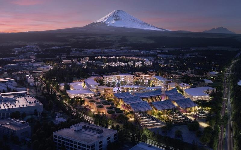 Toyota построит город будущего